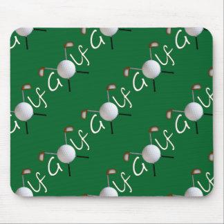 Belagd med tegel Golf Mousepad Musmatta