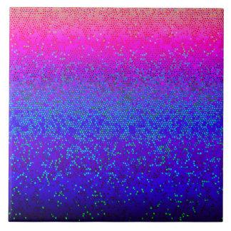 Belägga med tegel glitterstjärnan dammar av kakelplatta