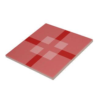 Belägga med tegel - överlappa kvadrerar skuggar in kakelplatta