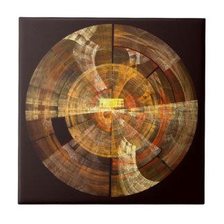 Belägger med tegel abstrakt konst för fullständigh kakelplatta