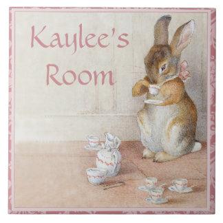 Belägger med tegel beställnings- konst för Beatrix Kakelplatta Av Kerami