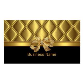Belägger med tegel den eleganta guld- pilbågen för set av standard visitkort