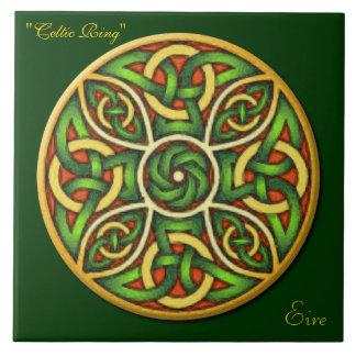 Belägger med tegel irländsk fnurra 6 för den Celt