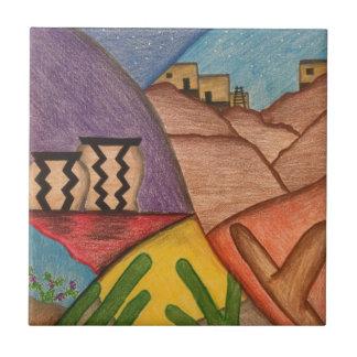 Belägger med tegel keramisk Folk konst för Kakelplatta