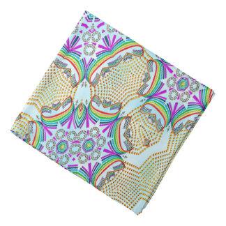 Belägger med tegel mång- färg för det abstrakt scarf