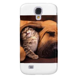 Belåtenhet med en Bestfriend Galaxy S4 Fodral
