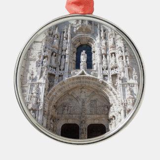 Belem Lisbon Jeronimos kloster Julgransprydnad Metall