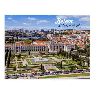 Belém Lisbon, Portugal Vykort