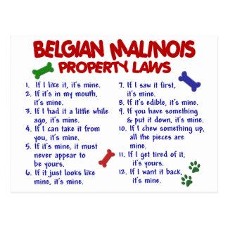 BELGARE MALINOIS PL2 VYKORT