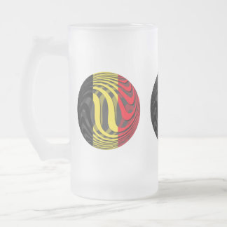 Belgien #1 frostat ölglas