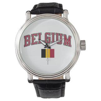 Belgien + Flagga