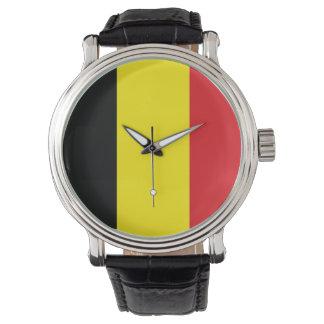 Belgien flagga armbandsur