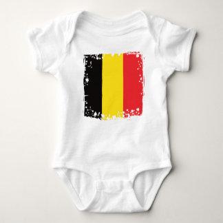 Belgien flagga, belgiskt bekläda för färgbaby tee