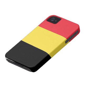 Belgien flagga Case-Mate iPhone 4 skal