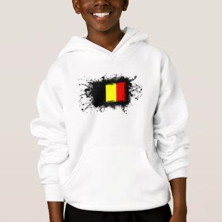Belgien flagga tee