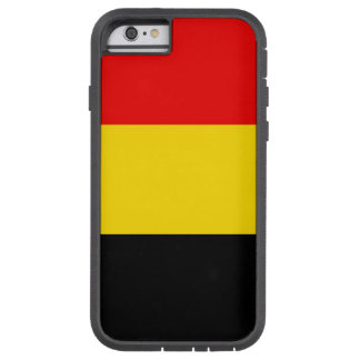 Belgien flagga tough xtreme iPhone 6 skal