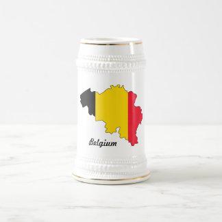 Belgien flaggamugg sejdel