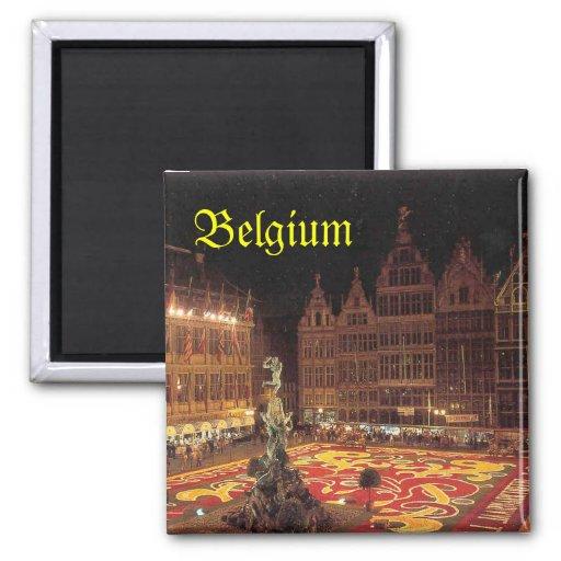 Belgien magnet kylskåpmagneter