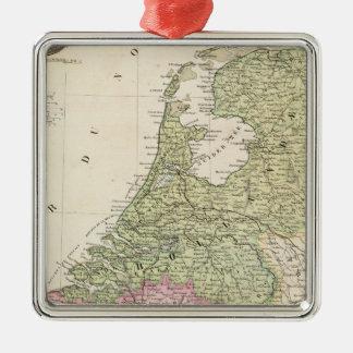 Belgien och Nederländerna 2 Julgransprydnad Metall