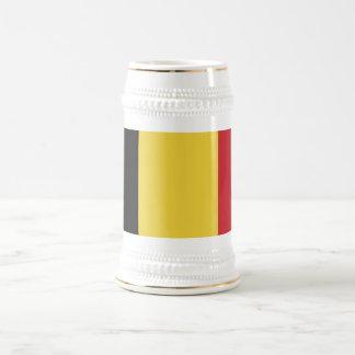 Belgien slättflagga sejdel