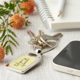 Belgisk amerikan Entwined hjärtanyckelring Rektangulärt Silverfärgad Nyckelring