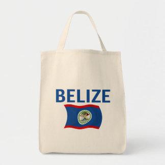 Belize flagga 1 (vågigt), tygkasse