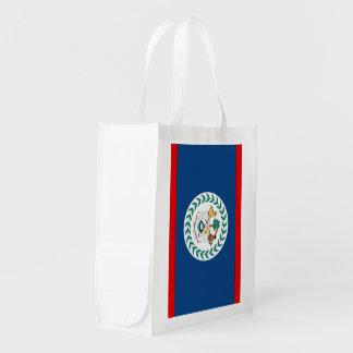 Belize flagga återanvändbar påse