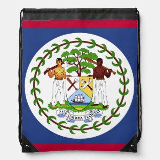 Belize flagga gympapåse