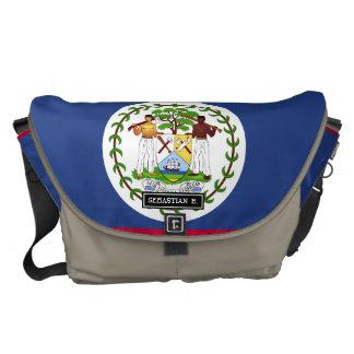 Belize flagga kurir väskor