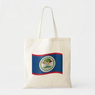 Belize flagga tygkasse