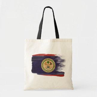 Belize flaggakanfas hänger lös tygkasse