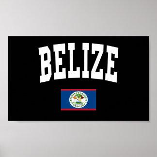 Belize stil poster