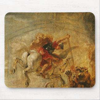 Bellerophon som rider Pegasus som slåss chimären Musmatta