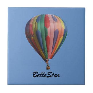 BelleStar hettluft Ballooon belägger med tegel med Kakelplatta