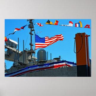Bemyndiga av USS Detroit Poster