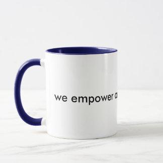 Bemyndiga sig Yourself kaffe Mugg
