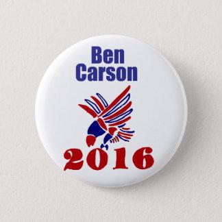 Ben Carson presidents- politisk konst Standard Knapp Rund 5.7 Cm