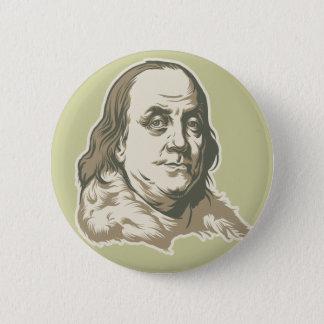 Ben Franklin knäppas Standard Knapp Rund 5.7 Cm