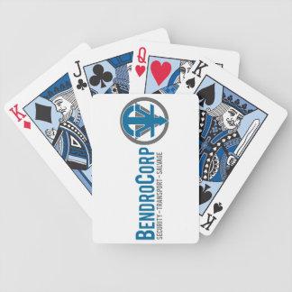 BendroCorp som leker kort Spelkort