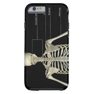 Benen av upperen förkroppsligar tough iPhone 6 case