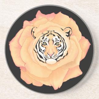 Bengal blommar underlägg sandsten