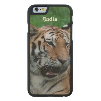 Bengal tiger i Indien Carved® Lönn iPhone 6 Slim Fodral