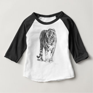 Bengal tigerteckning t shirt