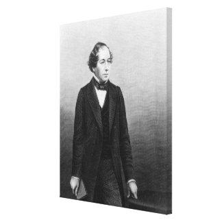 Benjamin Disraeli Canvastryck