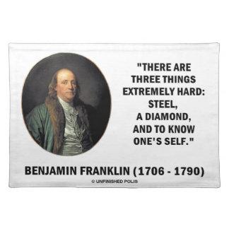 Benjamin Franklin tre saker extremt hårt Bordstablett