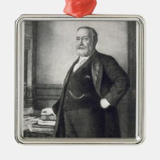 Benjamin Harrison (1833-1901), 23rd president av t Julgransprydnad Metall