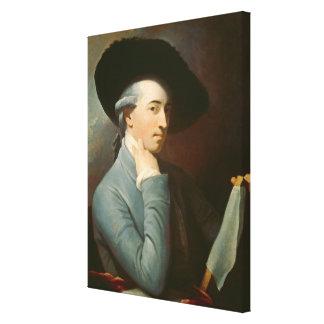 Benjamin väster, C. 1776 (olja på kanfas) Canvastryck