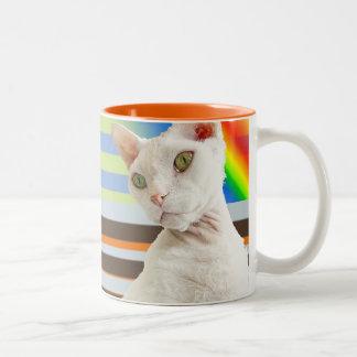 Benson & Casper | Retro kattmugg Två-Tonad Mugg
