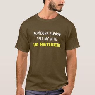 Berätta min fru mig förmiddagen avgick ordstävet tröja