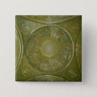 Berättelsen av Joseph, mosaik från den 3rd cupolae Standard Kanpp Fyrkantig 5.1 Cm